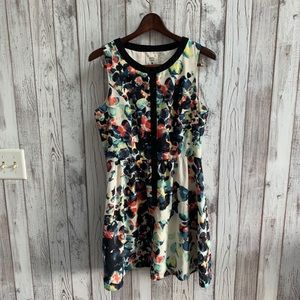 Mac + Jac multicolored sleeveless dress size large
